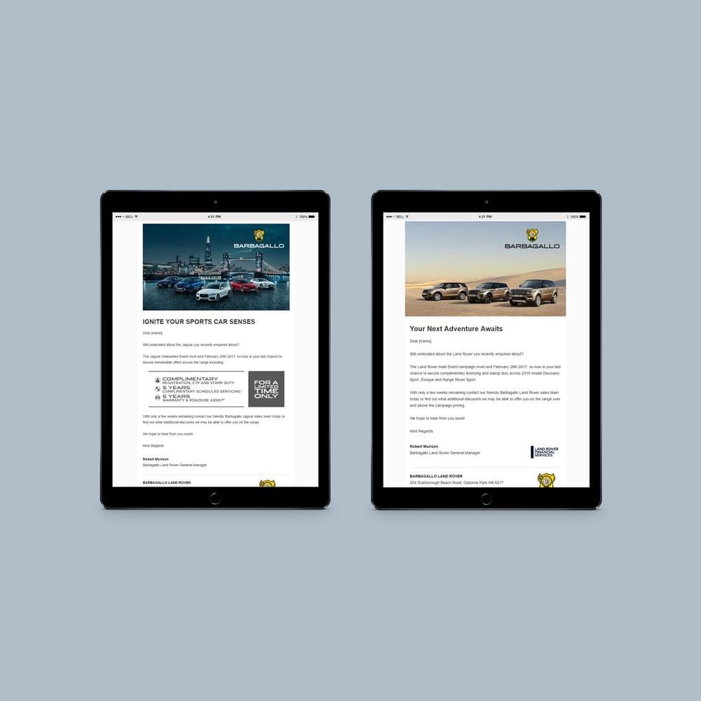 EDM Design & Development for Landrover & Jaguar