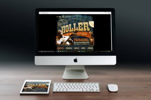 Holler Roots Music Festival Website Development