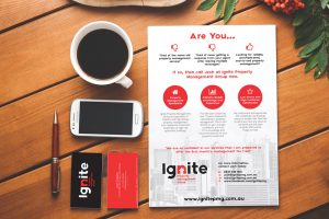 Ignite Property Management Group Marketing Material