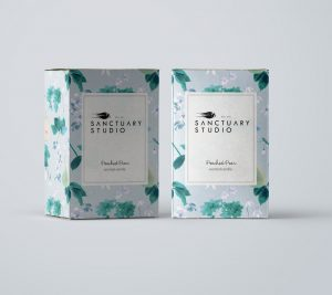 Sanctuary Studio - Candle Packaging Design