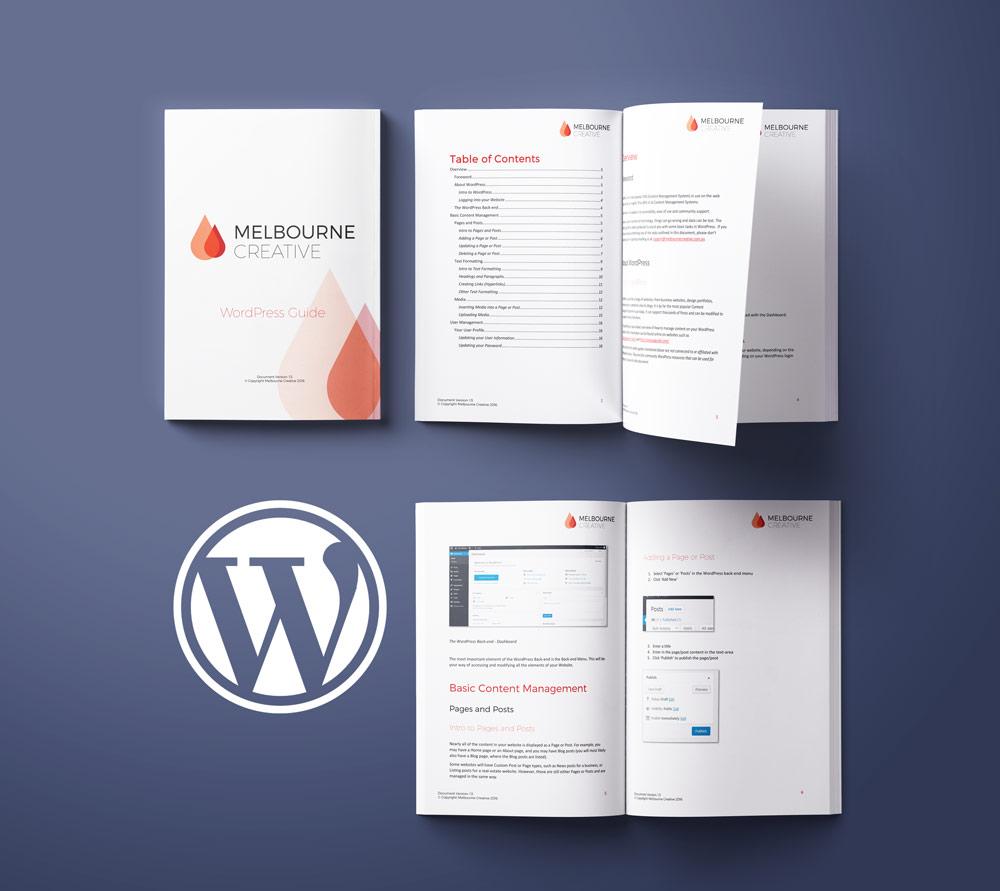 Melbourne Creative WordPress Guide