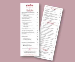 Windsor Deli Menu