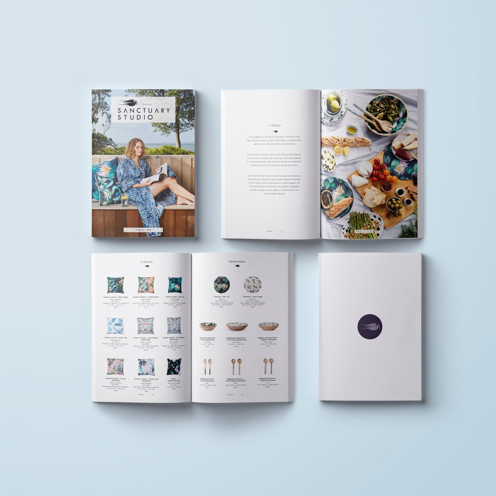 Catalogue Look Book Design